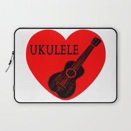 Ukulele Love Laptop Sleeve