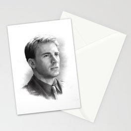 Steve Rogers  Stationery Cards