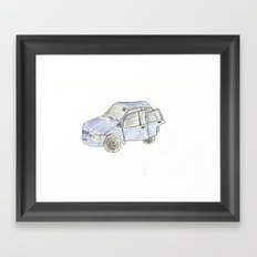 Car. Framed Art Print