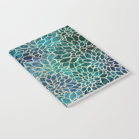 Floral Abstract 4 Notebook