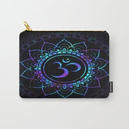 Om Mandala: Colorful Galaxy Carry-All Pouch