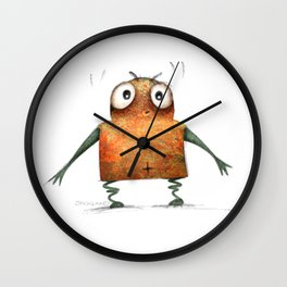 Undroid Robot Wall Clock