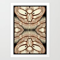 toothyteethytruthy Art Print