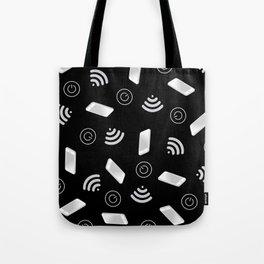 Techy Wi-Fi Tote Bag
