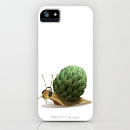 Snail DJ iPhone Case