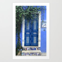 tunisian door 3 Art Print