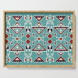 Native American Navajo pattern Serving Tray