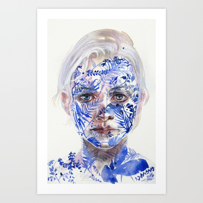 Discover the motif GARDEN III by Agnes Cecile as a print at TOPPOSTER