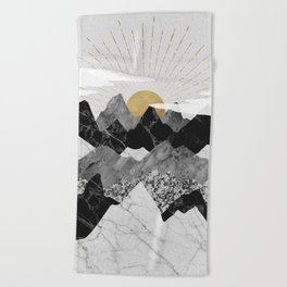 Sun rise Beach Towel