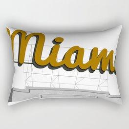 Miami Billboard Rectangular Pillow