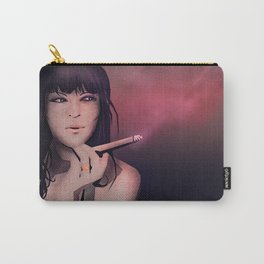Smokey Woman Carry-All Pouch