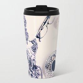 coffee blues Travel Mug