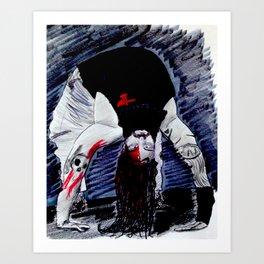 Bloody Bray Wyatt Art Print