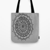 silent Tote Bags featuring Silent by Katie Duker