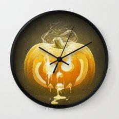 Pumpkin II. Wall Clock