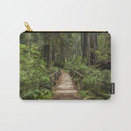 Walk Through Prairie Creek Redwoods State Park Carry-All Pouch