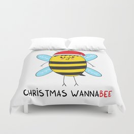 Christmas WannaBEE Duvet Cover