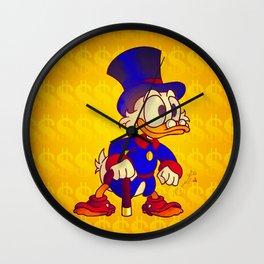 Uncle Scrooge - Ducktales Wall Clock