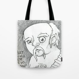 Fighting these damn highlanders... Tote Bag