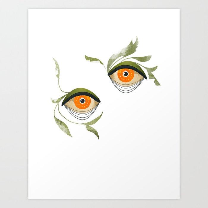 citrus in the bushes ~ Kunstdrucke