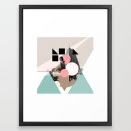 Locals Only - London - UK Framed Art Print