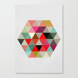 Geo Hex 03. Canvas Print
