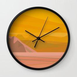 La Cholla II Wall Clock