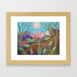 The Seed Framed Art Print