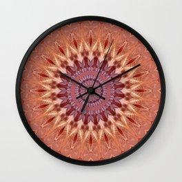 Mandala Calm Wall Clock