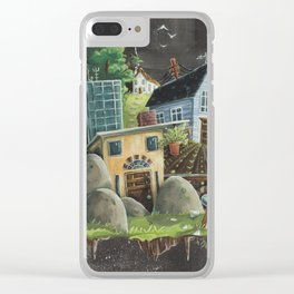 Isolated Chaos Clear iPhone Case