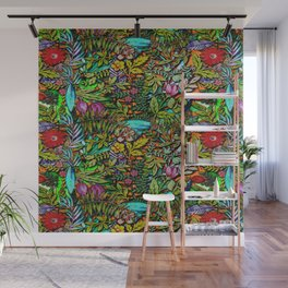 Colorful Bush Wall Mural