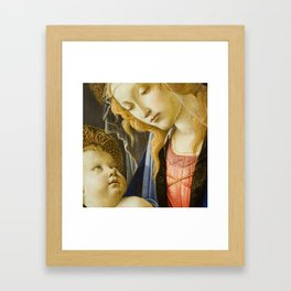 Madonna and Child Renaissance Religious art Framed Art Print