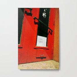 Mail Box. Metal Print