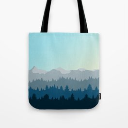 Face This Mountain (No Text) Tote Bag