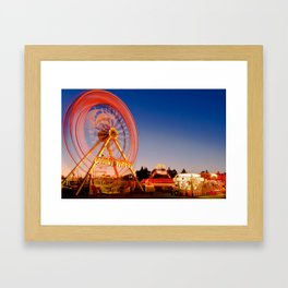 Giant Wheel Framed Art Print