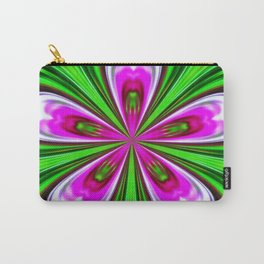 Abstract - Petals Carry-All Pouch