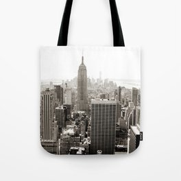 Static Empire Tote Bag