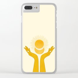 Holding the Light Clear iPhone Case