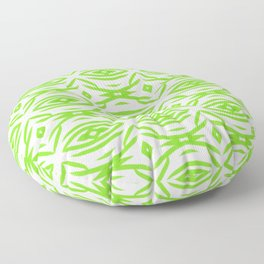 Green Garden Floor Pillow