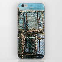 south africa iPhone & iPod Skins featuring Lobster Crates South Africa by NinjaGlue