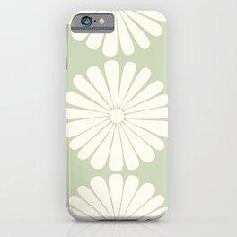 Retro Daisy XXV iPhone Case