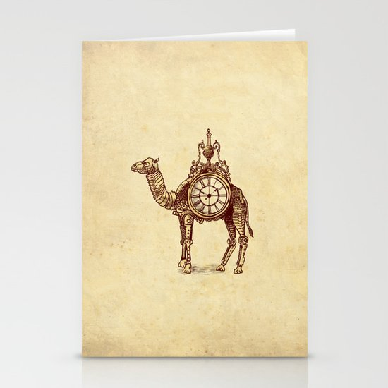 Desert Time Stationery Cards