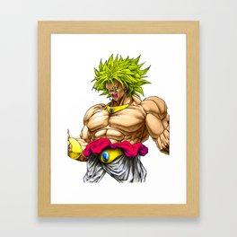 BROLY - DRAGON BALL Framed Art Print