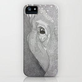 A mazing elephant II iPhone Case