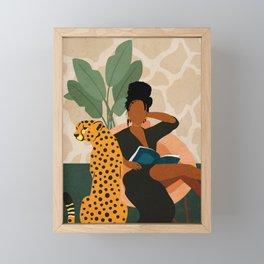 Stay Home No. 1 Framed Mini Art Print
