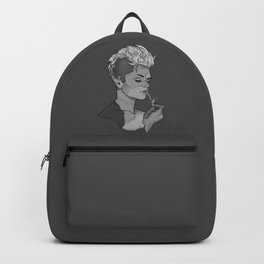 Frankenstein's Smoker - Zombie Girl Smoking Halloween Backpack