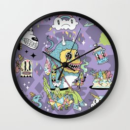 We Came to Explore Wall Clock
