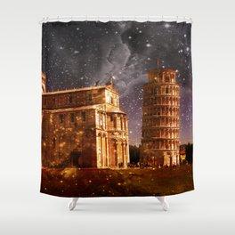 Pisa  Shower Curtain