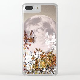 Super Moon v.1 - Autumnal - Nov 14th 2016 #buyart Clear iPhone Case