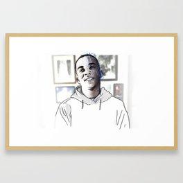 Stephon Clark • Forever Young Framed Art Print